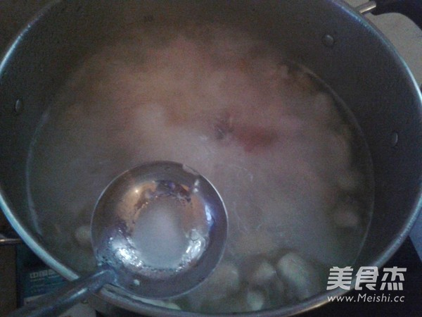 芸豆蹄髈汤怎么炒