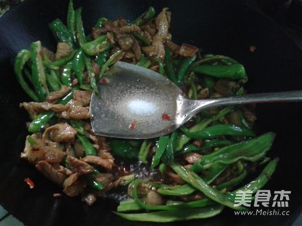 尖椒炒肉怎么煮