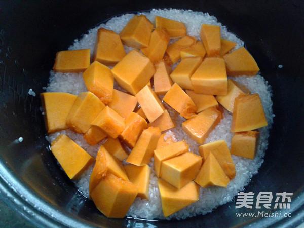 南瓜米饭的简单做法