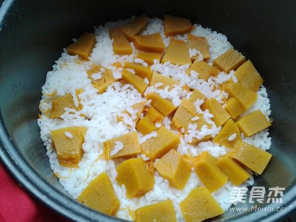 南瓜米饭怎么做