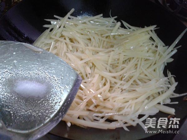 清炒土豆丝怎么做