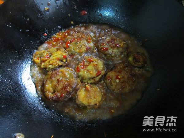 鱼香茄盒的制作方法