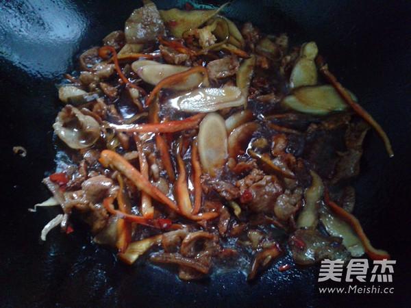 韭菜花炒肉怎么煮