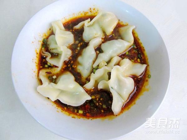 四川红油水饺怎样炒