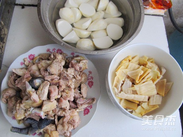 四川芋儿鸡的家常做法