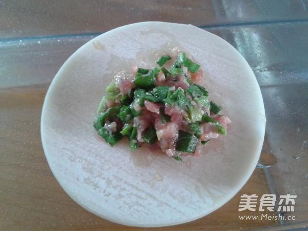 韭菜猪肉饺怎么炖
