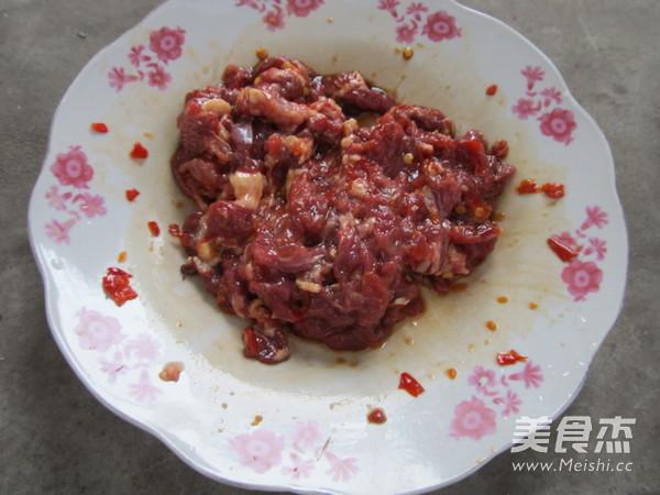 芹菜炒牛肉的做法图解