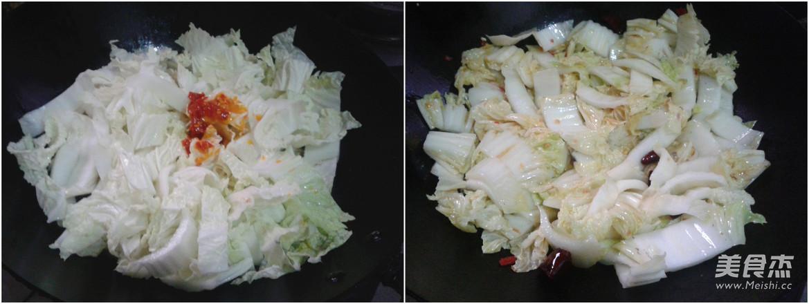 炝炒白菜的家常做法