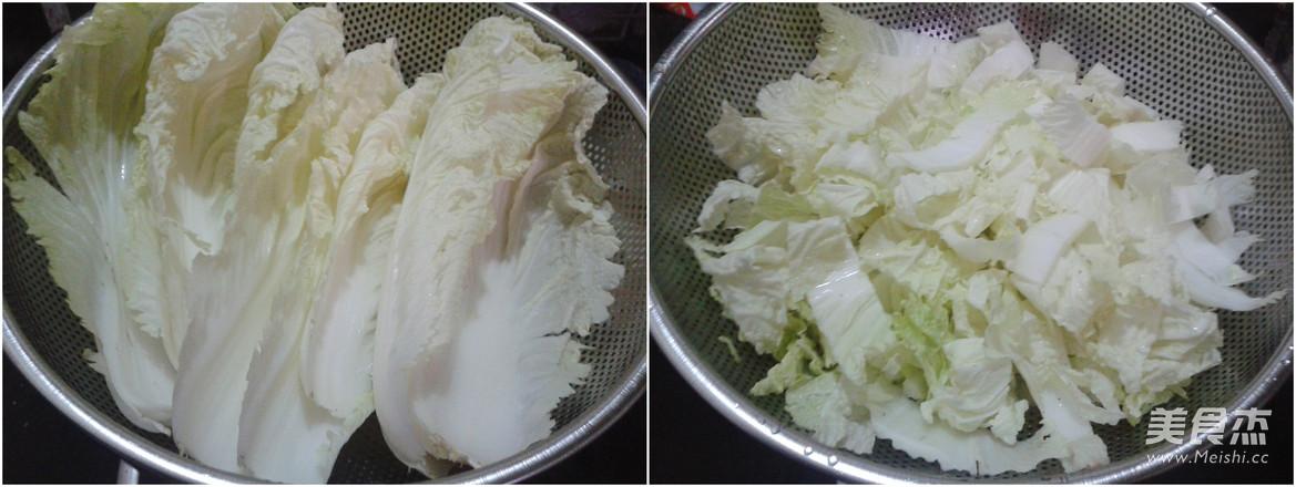 炝炒白菜的做法大全