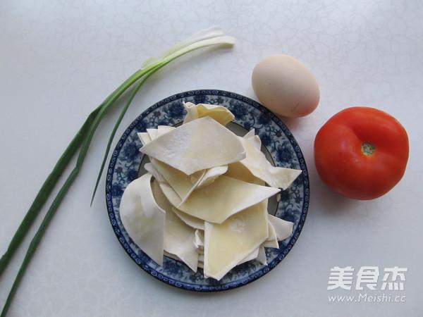 番茄蛋花面片汤的做法大全