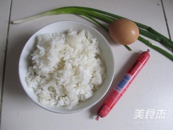 蛋炒饭的做法大全