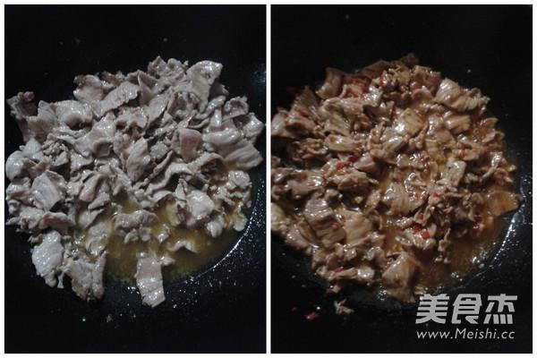 莴笋炒肉的做法图解