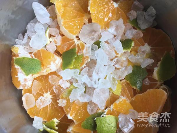 青桔冰糖柠檬水的家常做法