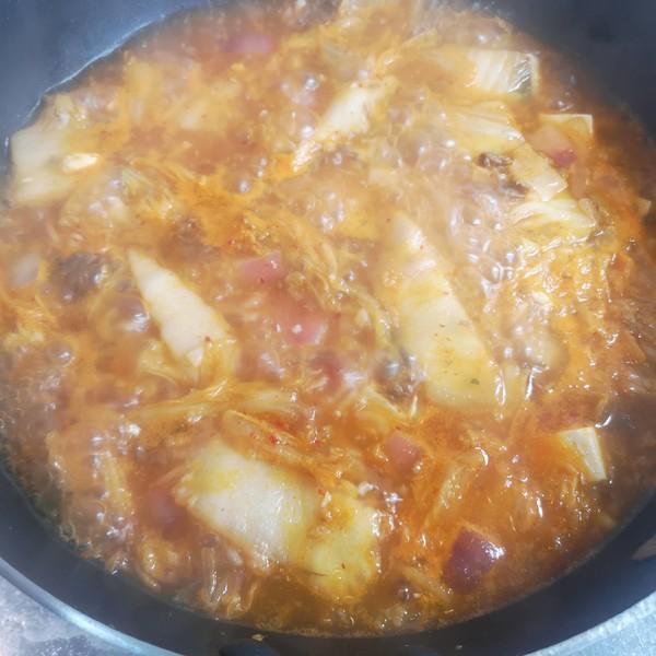 韩式泡菜豆腐汤怎么煮