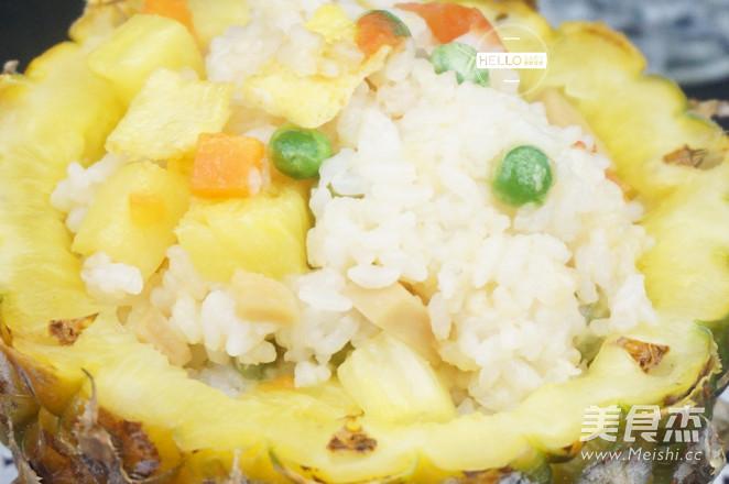 五彩菠萝饭怎么炒