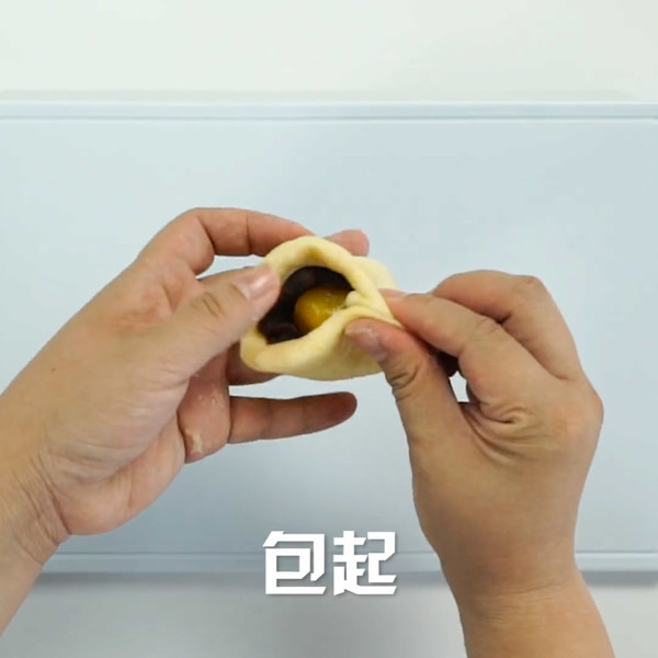 蛋黄酥怎么做