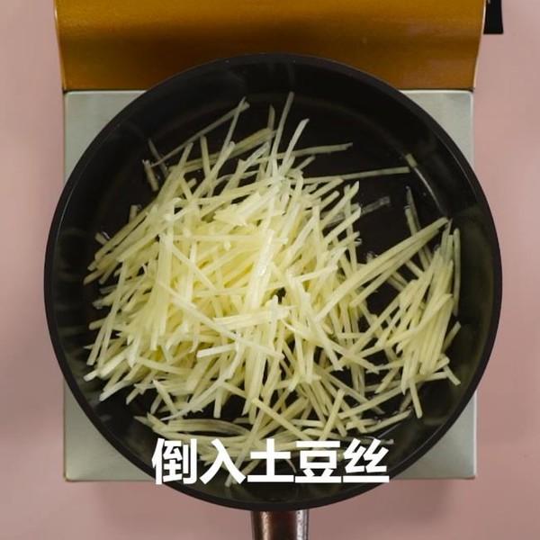 醋溜土豆丝的简单做法