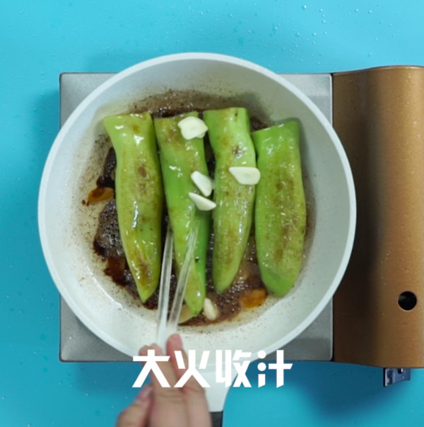 虎皮青椒怎么吃