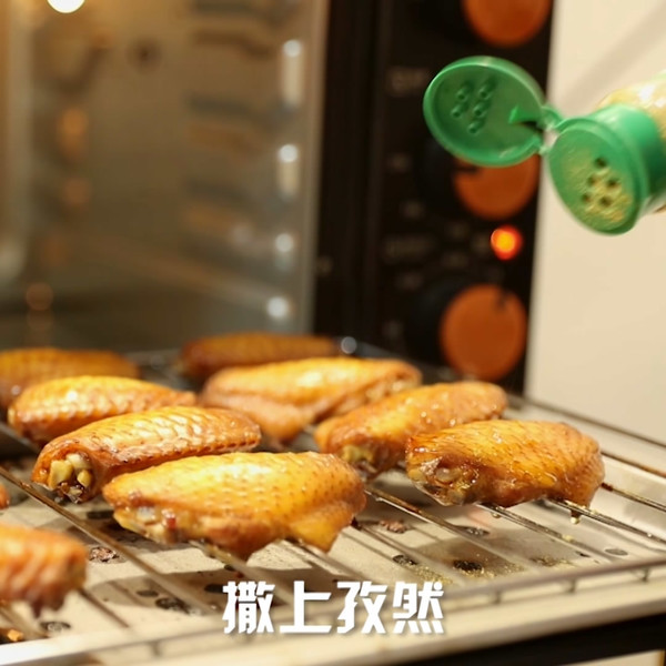 烤箱烤鸡翅怎么吃