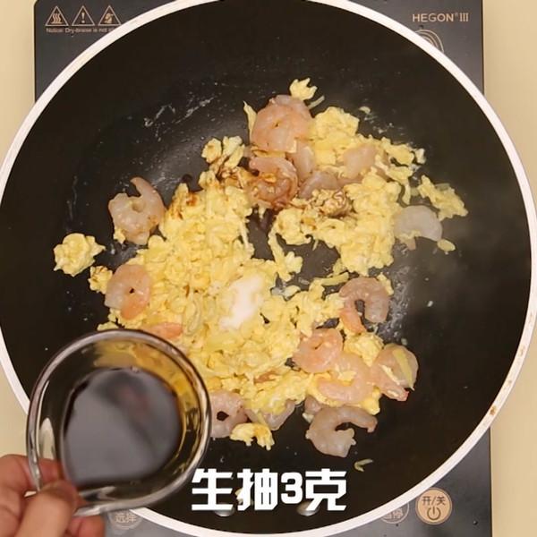虾仁炒蛋怎么吃