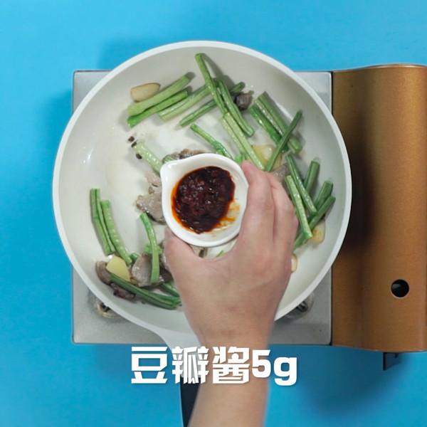 豆角炒肉的简单做法