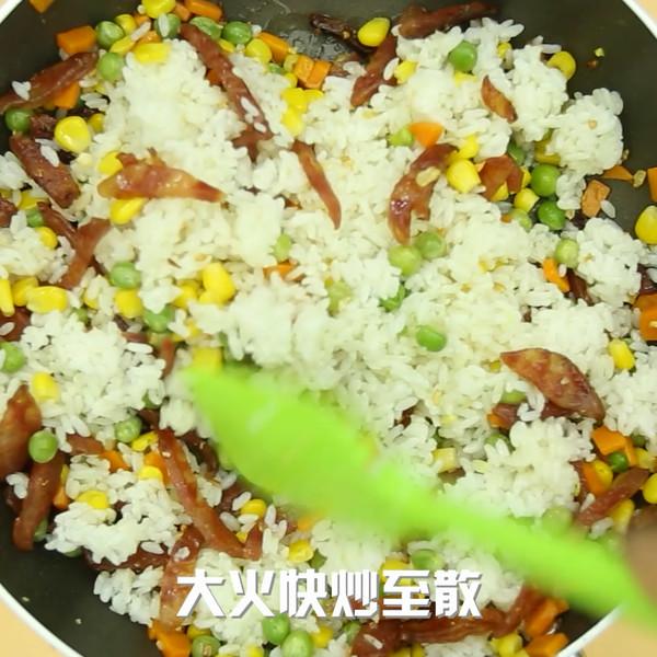 扬州炒饭怎么做