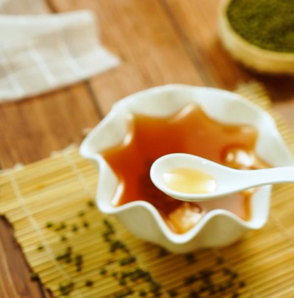 绿豆汤成品图