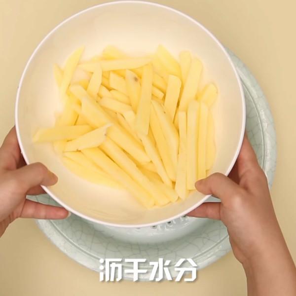薯条的做法图解