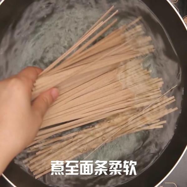 荞麦面的简单做法