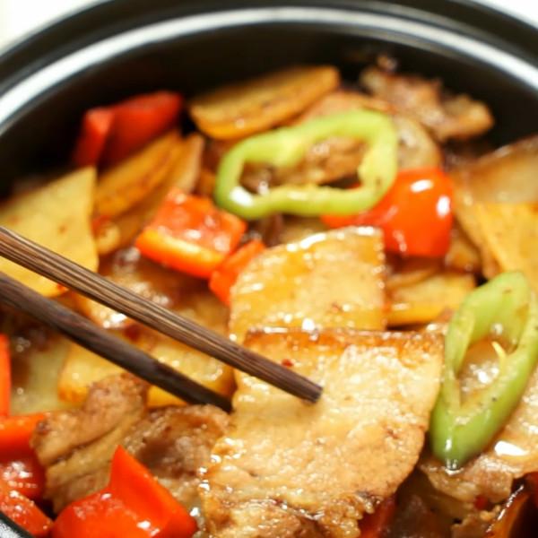 干锅土豆片怎么炒
