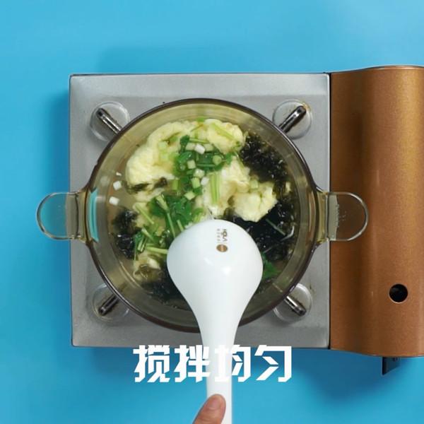 紫菜蛋花汤怎么吃