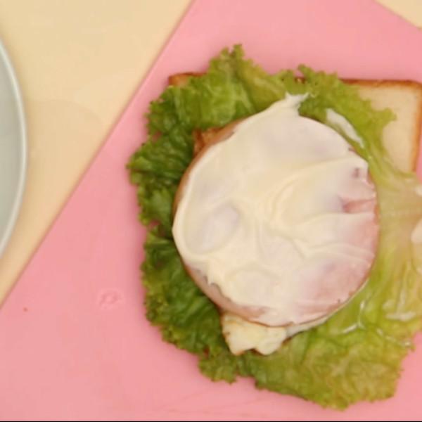 三明治的家常做法