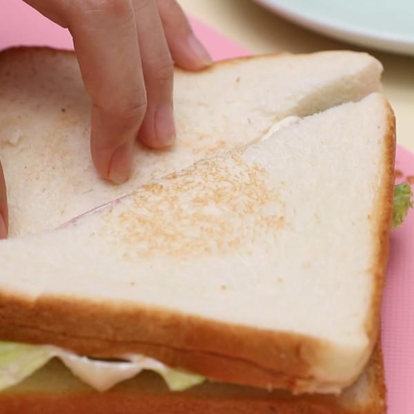 三明治的简单做法