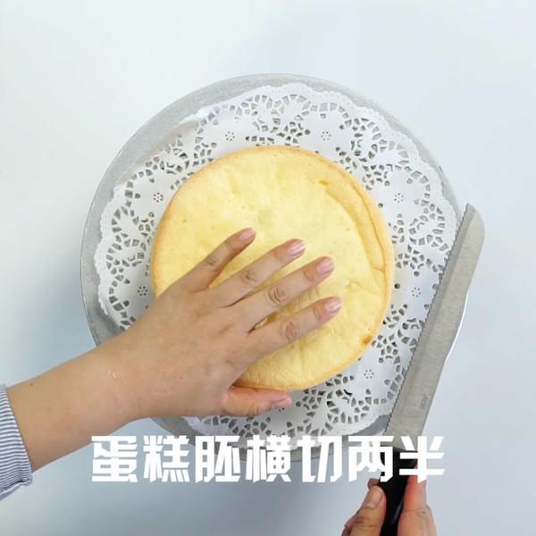皇冠蛋糕的做法图解