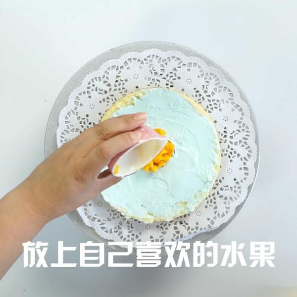 皇冠蛋糕的简单做法