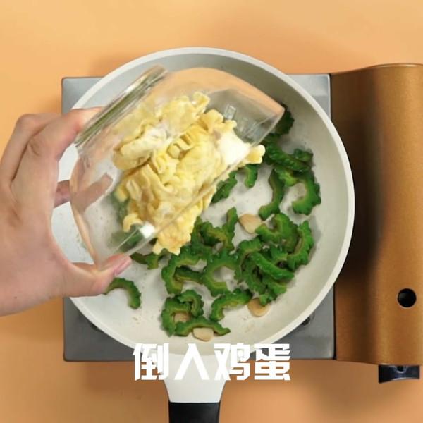 苦瓜炒蛋怎么煮