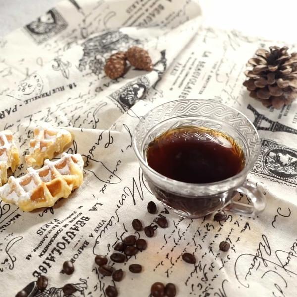美式咖啡成品图