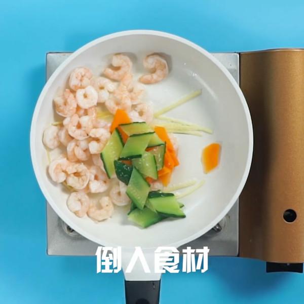清炒虾仁怎么吃