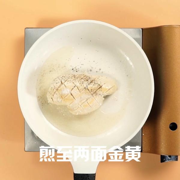 香煎鸡胸肉怎么吃