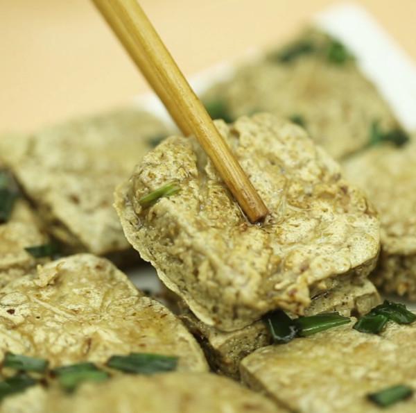 臭豆腐成品图