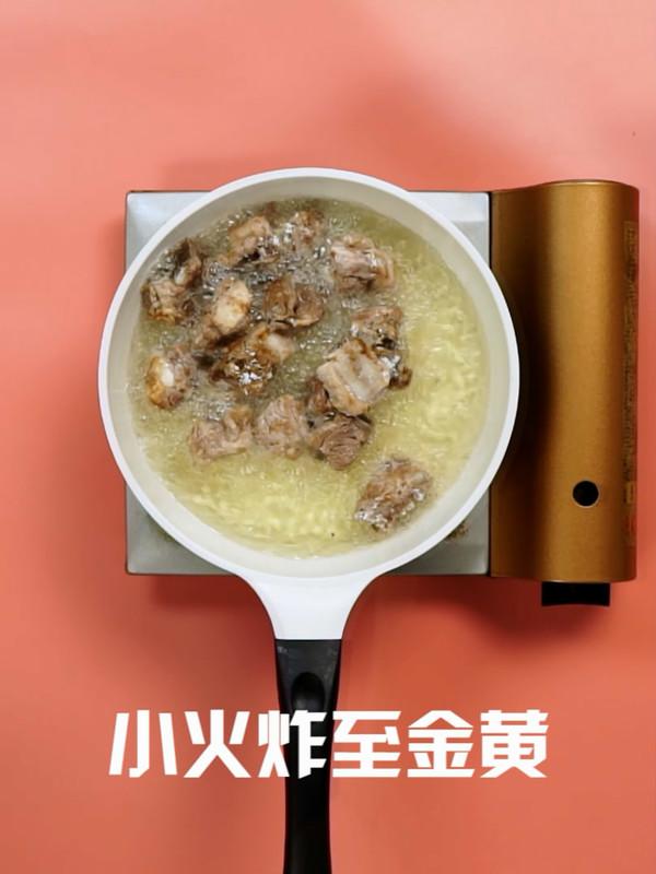 干锅排骨的简单做法