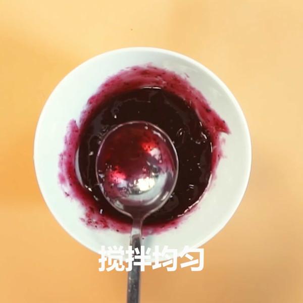 蓝莓山药的简单做法