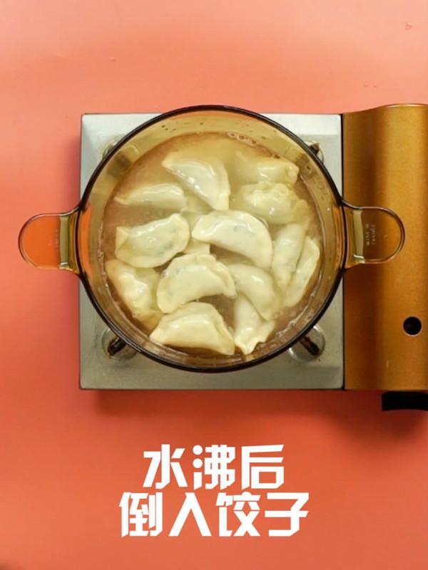 韭菜鸡蛋饺子怎么炒