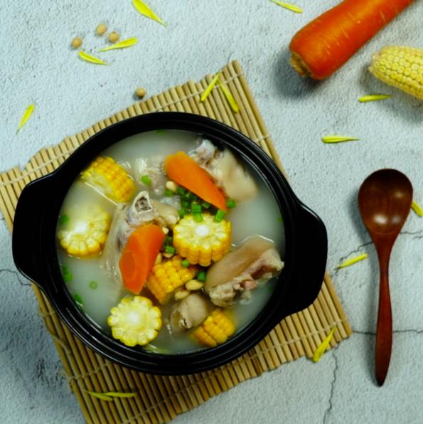 猪蹄汤成品图