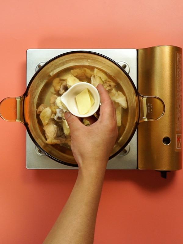 榴莲炖鸡的简单做法