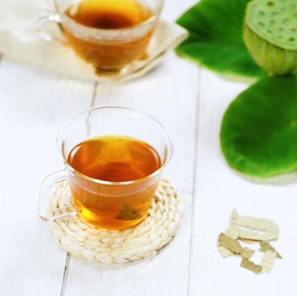 荷叶茶的简单做法