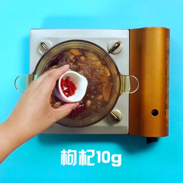 五红汤的步骤