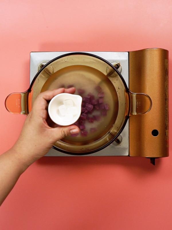 紫薯粥的简单做法