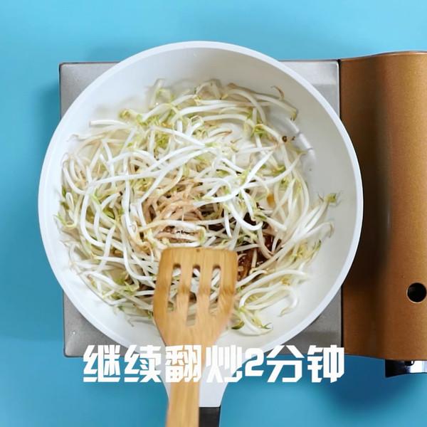 炒豆芽的家常做法