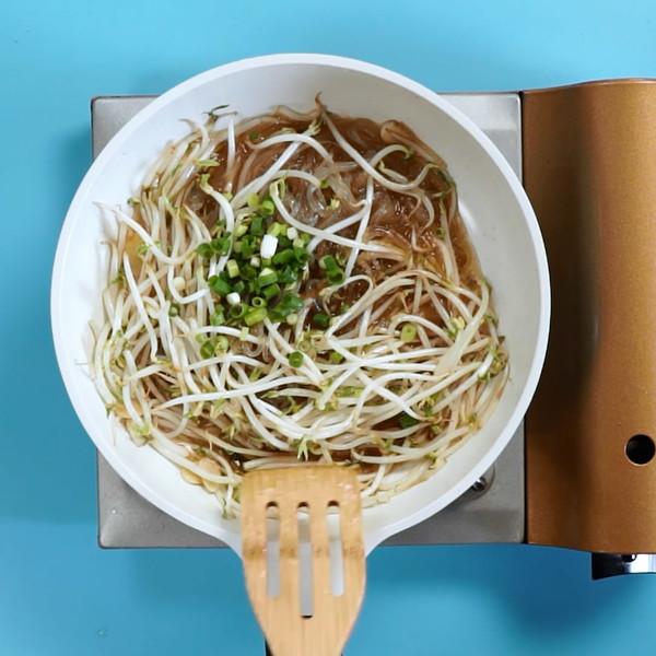 炒豆芽的简单做法